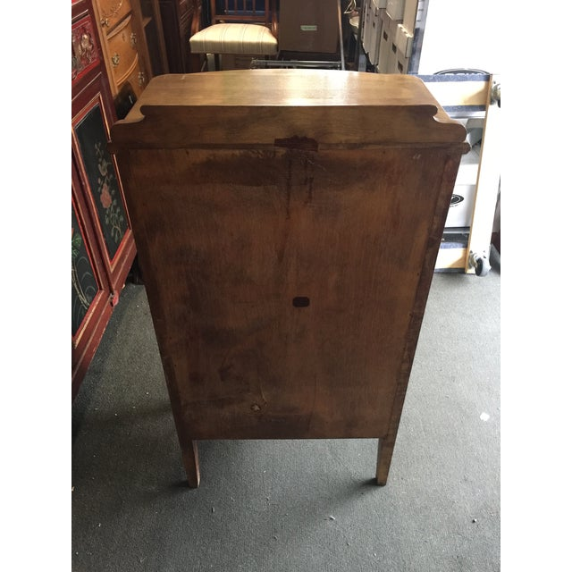 Antique Sheet Music Cabinet For Sale - Image 9 of 10
