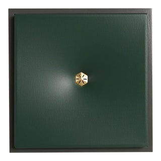 Topher Gent Canvas : Green Contemporary Painting Wall Sculpture For Sale