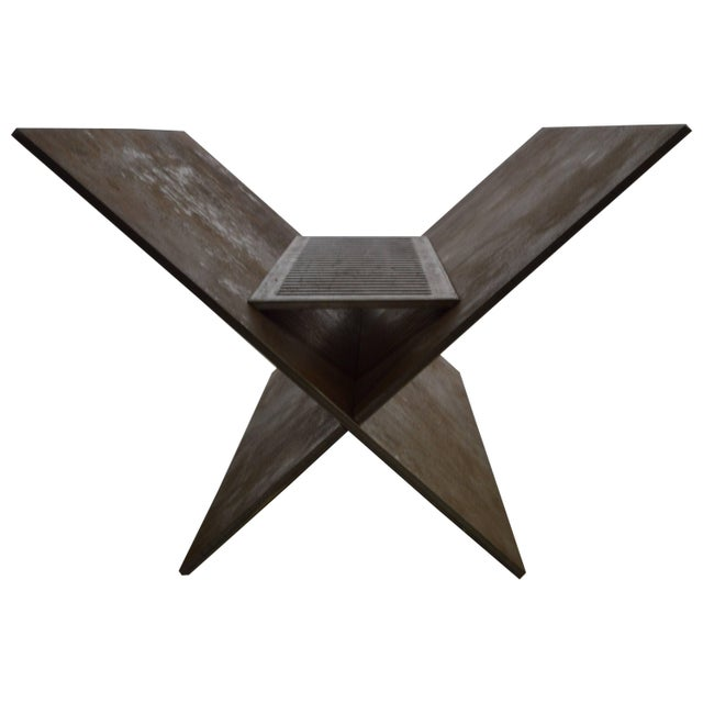 Not Yet Made - Made To Order Contemporary Minimalist Steel Patio or Garden Fire Pit by Scott Gordon For Sale - Image 5 of 5