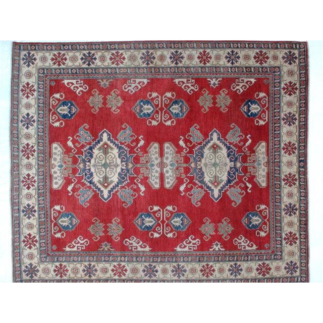 "Leon Banilivi Kazak Carpet - 8'6"" X 10'2"" For Sale - Image 4 of 8"