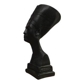 Large Queen Nefertiti Plaster Bust Sculpture