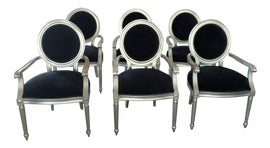 Image of Newly Made Bergere Chairs