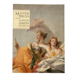 1989 Masterpieces From the Norton Simon Museum Art Book For Sale