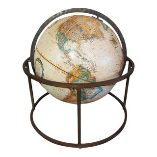 Desk Top Globe in the Style of Paul McCobb