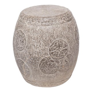 Chinese Charm Stone Drum Stool For Sale