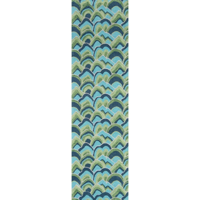 2010s Madcap Cottage Embrace Cloud Club Green Area Rug 5' X 8' For Sale - Image 5 of 8