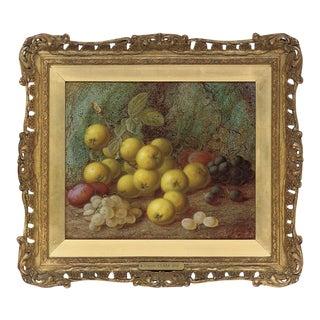 Vincent Plums & Grapes Painting For Sale