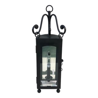 Troy Lighting Mill Valley 1-Light Outdoor Wall Lantern in Natural Bronze For Sale