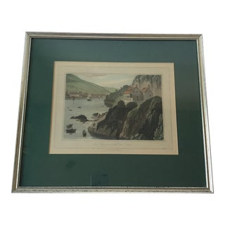 19th Century William Daniell Aquatint Engraving