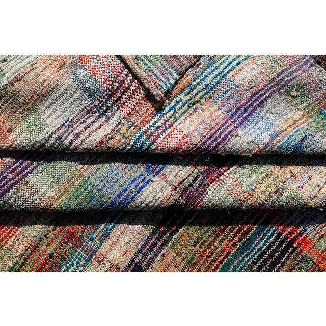 Vintage Turkish Hand-Made Flatweave Kilim Rug - 7′3″ × 10′5″ - Image 3 of 5