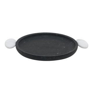 Tray in Black Marquinia Marble by Matteo Cibic, Made in Italy For Sale