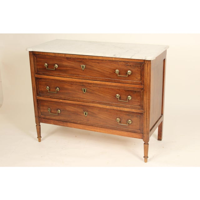 19th Century 19th Century Louis XVI Style Chest of Drawers For Sale - Image 5 of 13