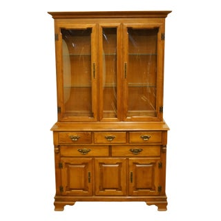 """Tell City Colonial Style Solid Maple 45"""" Buffet For Sale"""
