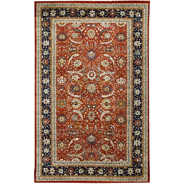 Traditional Hand Woven Rug - 14'4 X 22'8 - Image 1 of 3