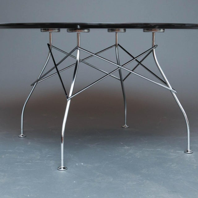 Kartell Glossy Table by Antonio Citterio For Sale In New York - Image 6 of 10