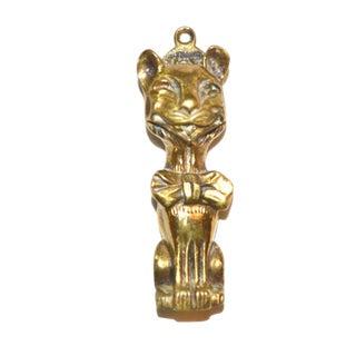 Grinning Cheshire Cat Door Knocker For Sale