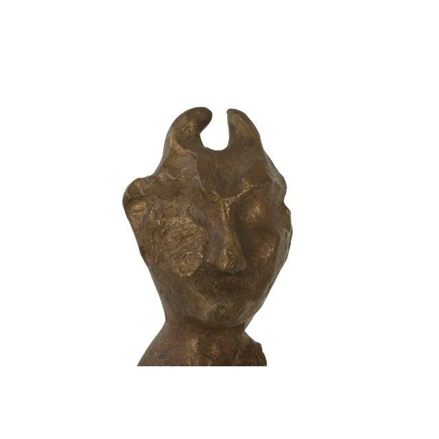 Brutalist Devil Sculpture - Image 4 of 4