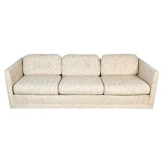 1970s Milo Baughman Style Three Seat Sofa