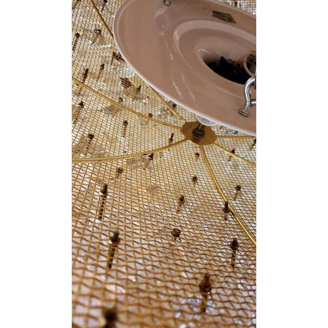 1970s 1970s Barovier Large Mid Century Modern Murano Glass Flower Flush Mount Light For Sale - Image 5 of 11