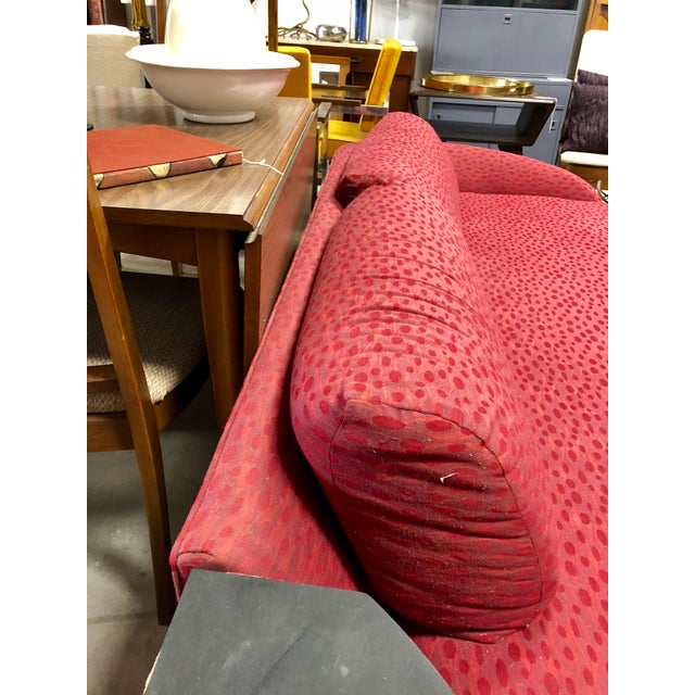 Vintage Mid Century Adrian Pearsall Curved Sofa For Sale In Charleston - Image 6 of 8
