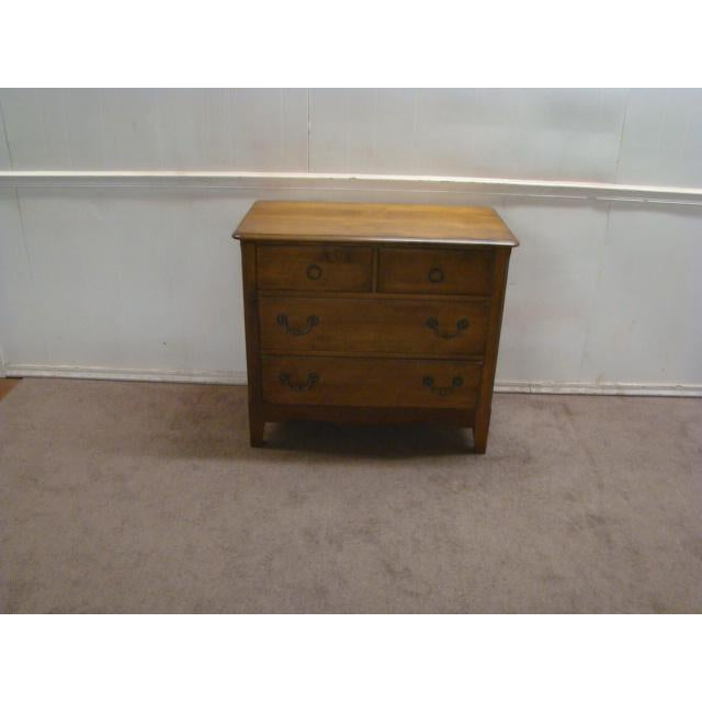 Pennsylvania House country Grench solid maple chest. Made in the 1990s. Features dovetailed drawers, French country style,...