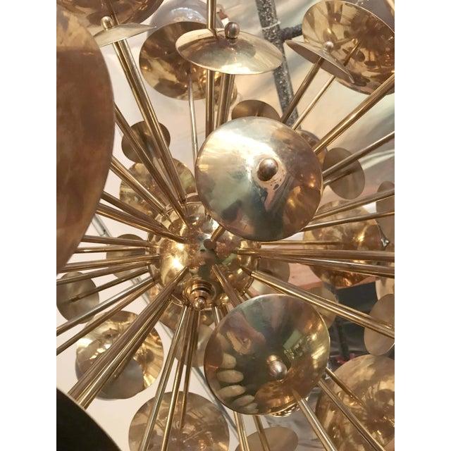 Metal Lampadina Sputnik Chandelier by Fabio Ltd For Sale - Image 7 of 10