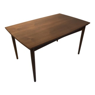 Mid-Century Modern Danish Modern Teak Draw Leaf Table