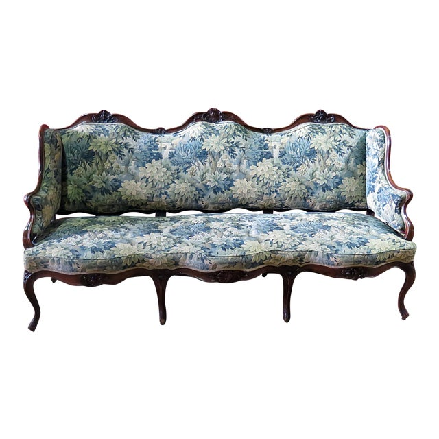Antique Louis XV Style Sofa For Sale