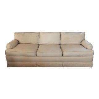 Mid-Century White Henredon Sofa