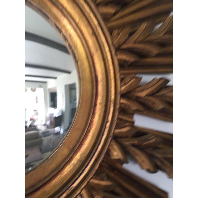 Wooden Sunburst Mirror - Image 9 of 11