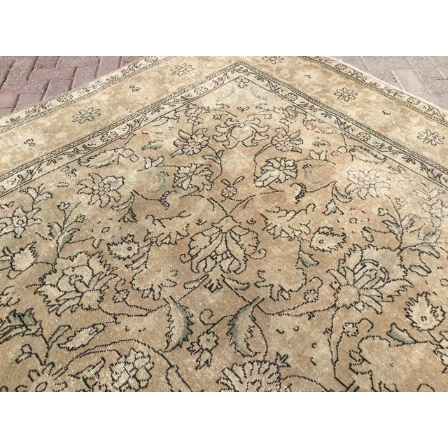 Oversized Antique Oushak Area Rug For Sale In Raleigh - Image 6 of 11
