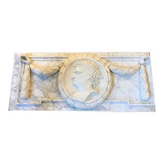 Large Grand Tour Marble Plaque