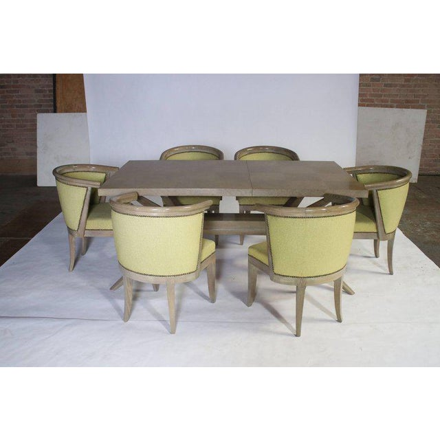 Textile Harold Schwartz for Romweber M-748 Dining Table For Sale - Image 7 of 9