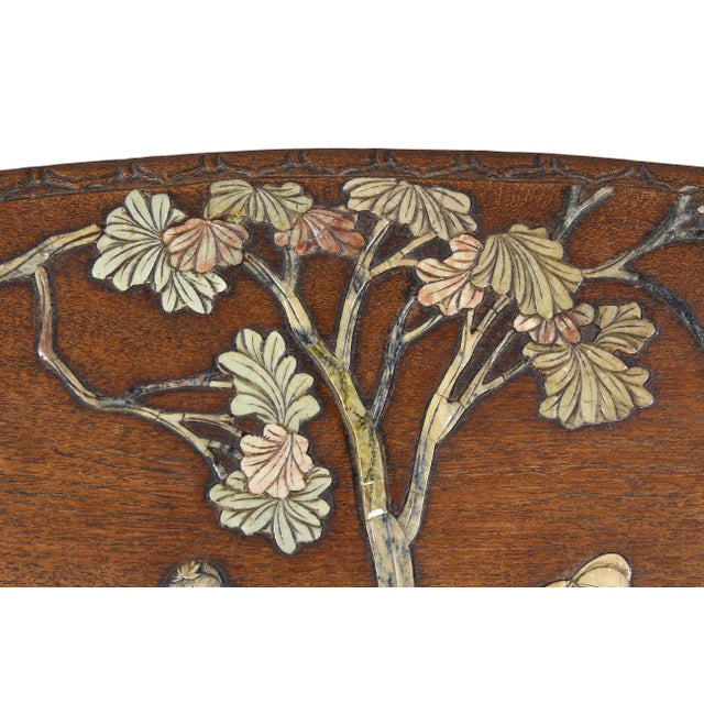 Chinese Hardstone Mounted Coffee Table For Sale - Image 9 of 13