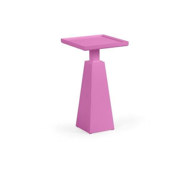 Transitional Casa Cosima Hayes Spot Table, Lilac Pink For Sale - Image 3 of 3