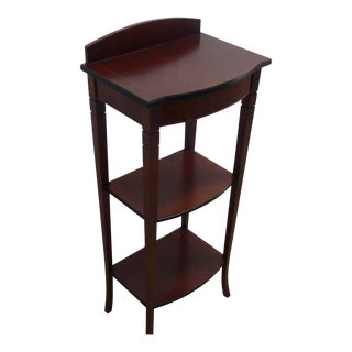 Spanish Three-Tier Side Table