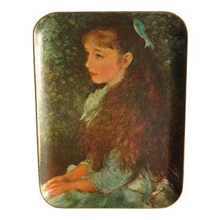 Vintage Renoir 'La Petite Irene' Bar Tray