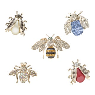 Mini Bug Clip Set - Set of 5 For Sale