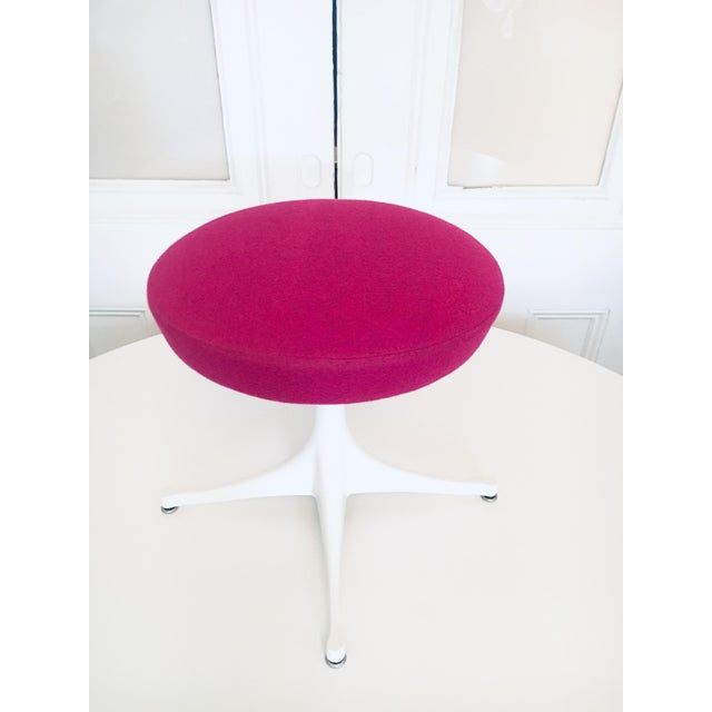 Herman Miller George Nelson Pedestal Stool Herman Miller Mid Century Modern Eames Era For Sale - Image 4 of 9