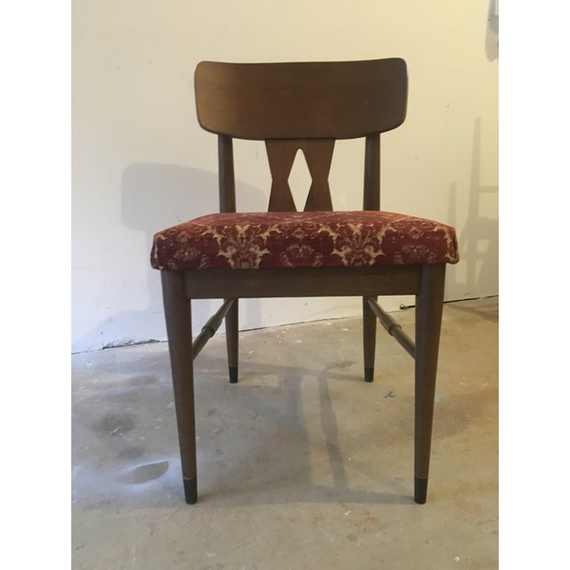 Vintage Modern Danish Style Dining Chairs - Set of 6 - Image 5 of 10