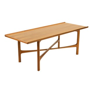 Folke Ohlsson for Bodafors Teak X Leg Coffee Table For Sale