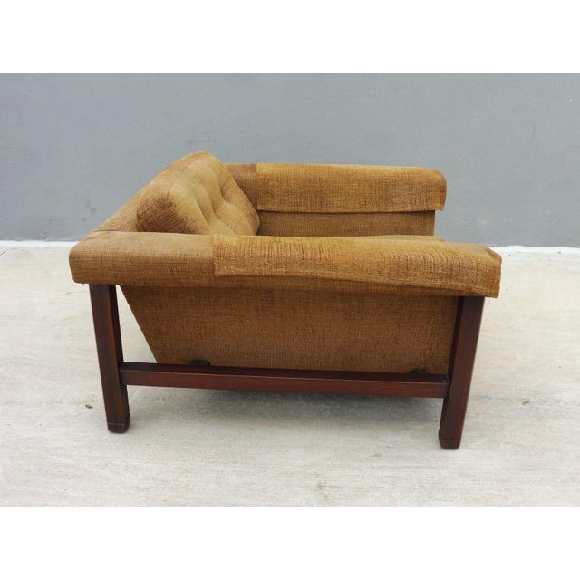 1960's Mid Century Modern Low Slung Lounge Chair For Sale - Image 4 of 8