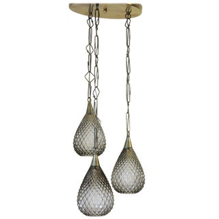 Fabio Ltd Flushed Drop Pendant Light For Sale