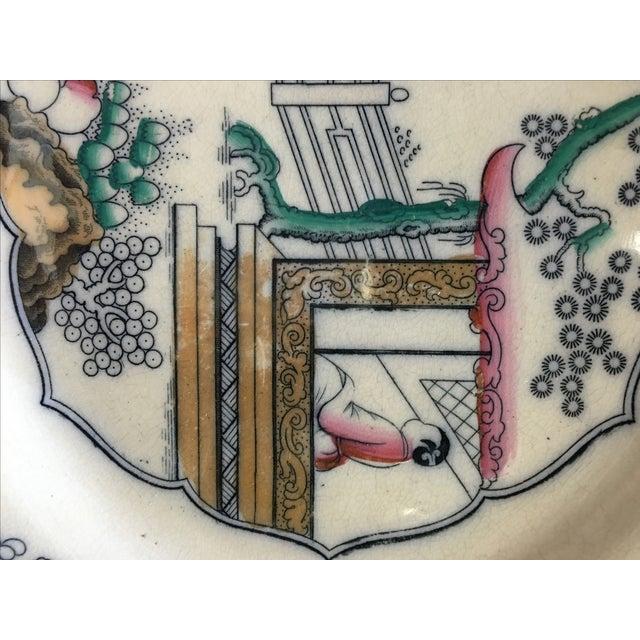 Chinoiserie Famille Platter - Image 5 of 5