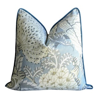 Mitford Floral by Thibaut Pillow Cover For Sale