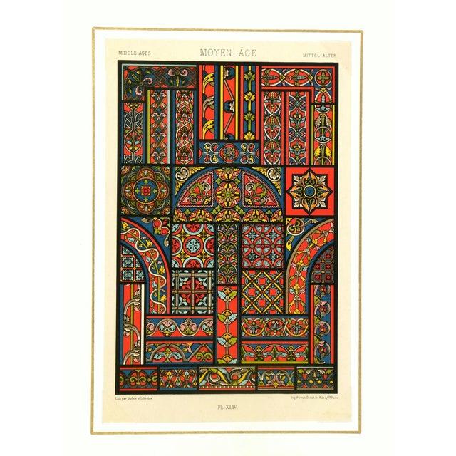 Mediterranean Interior Designs Lithograph For Sale - Image 3 of 4
