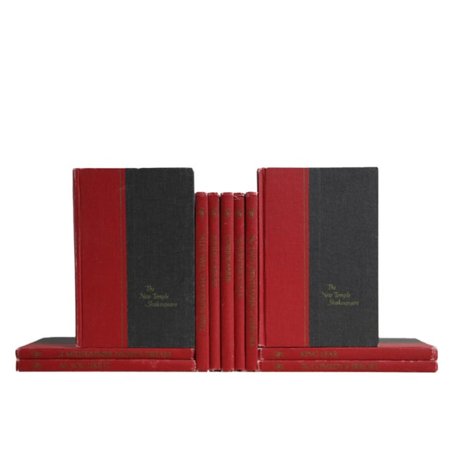 Midcentury Shakespeare Collection, S/11. Features a blend of eleven authentic midcentury books published 1940-1969....
