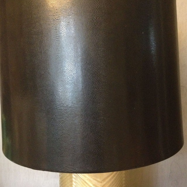 Westwood Lamp - Gold & Black - A Pair - Image 6 of 6