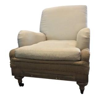 Modern Restoration Hardware Deconstructed Armchair For Sale