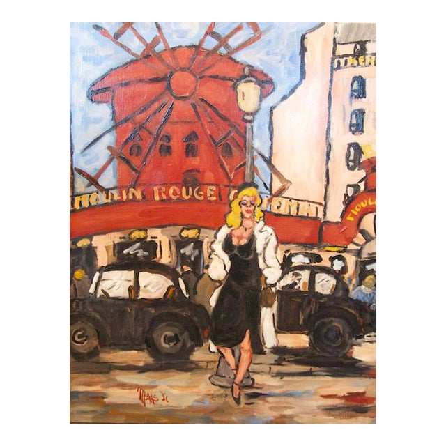 Le Moulin Rouge by Jean-Claude Maas - Image 1 of 6
